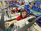 Dříve Baťa v Dolním Němčí vyráběl až milion párů bot ročně, nyní je to asi...