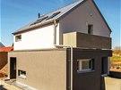Odstranění původní stavby a výstavba nového rodinného domu místu prospěly. Cíp