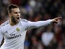 Jese z Realu Madrid slaví gól.