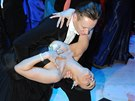 Ples v Ope�e 2014: Mahulena Bo�anov� to rozjela ve velk�m