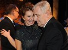 Ples v Opeře 2014: Manželé Hana a Karel Heřmánkovi