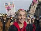Proti �pan�lsk�mu z�konu na omezen� potrat� se protestovalo i ve Francii....