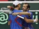 DŮLEŽITÁ VÝHRA. Českým tenistům stačí k postupu z 1. kola Davis cupu přes