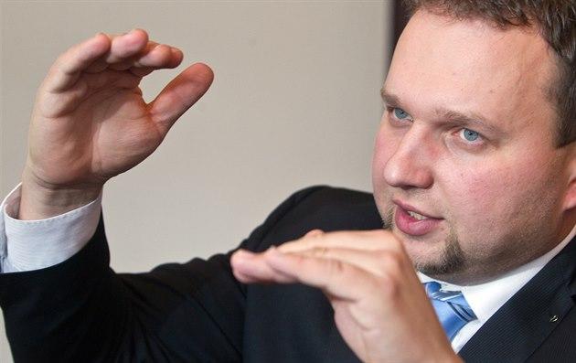 Ministr zem�d�lství Marian Jure�ka z KDU-�SL.