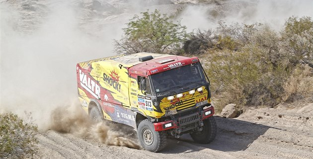 Jaroslav Valtr na Rallye Dakar