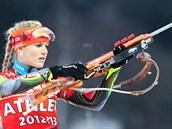 Biatlonistka Gabriela Soukalová