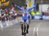 Cyklokrosař Zdeněk Štybar ovládl na mistrovství světa v nizozemském Hoogerheide kategorii Elite a po třech letech oslavil třetí titul v kariéře.