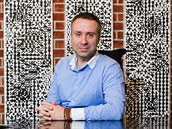 Jiří Grund mladší, generální ředitel firmy GRUND vyrábějící v Mladých Bukách...
