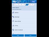 Mobilní aplikace Sochi 2014 Results