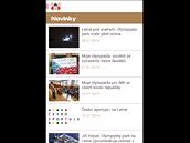 Mobilní aplikace Letná 2014