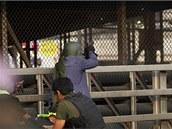Střelba na provládní aktivisty v Bangkoku (1. února 2014)