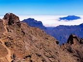 La Palma, N�rodn� park Caldera de Taburiente, Kan�rsk� ostrovy