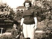 Rey Koranteng s maminkou.