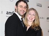 Marc Mezvinsky a Chelsea Clintonová (5. února 2014)