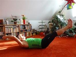 Břicho –  nohy –  paže