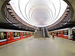 Stanice metra Plac Wilsona ve Var�av� je pojmenov�na po b�val�m prezidentovi...