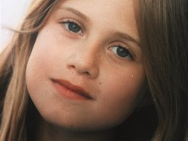 Emma Smetana v osmi letech