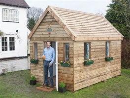 Dřevěný minidům je ideální pro jednoho či maximálně dva obyvatele, zároveň se...