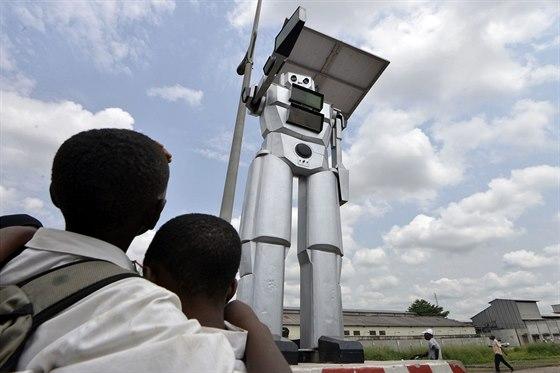 Autorem projektu dopravních robotů je Sdružení ženských inženýrů v Demokratické...