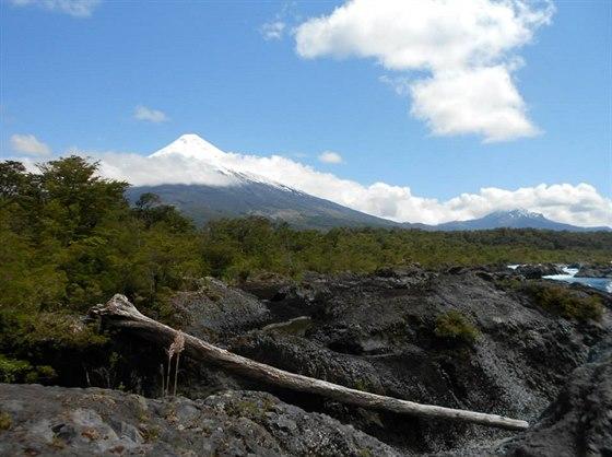 Národní park v kraji Los Lagos pod vulkánem Osorno