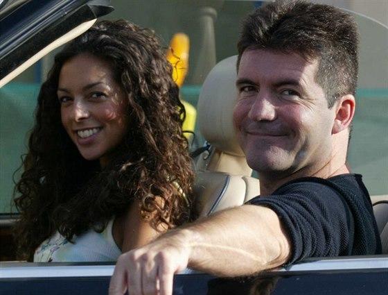 Simon Cowell s přítelkyní Terri Seymourovou