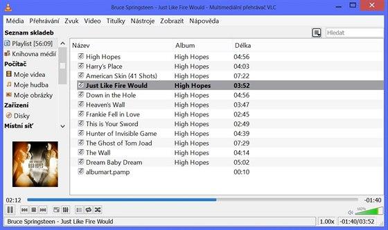 VLC je primárně videopřehrávač, s hudbou si však poradí velmi dobře. Současná...