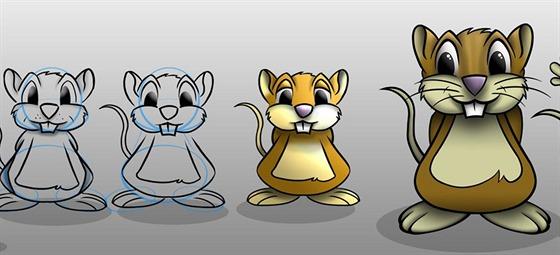Jak vznikla podoba pana Myšáka