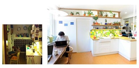 Původní kuchyň - a její nová podoba