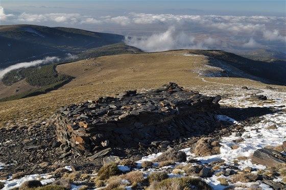 Bivak pod vrchem Chullo (2 612 m)