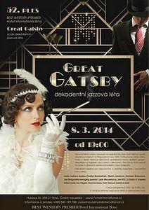 """52. PLES HOTELU INTERNATIONAL tentokrát ve stylu """"GREAT GATSBY"""""""