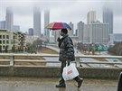 Obyvatelé Atlanty se připravují na další úder chladného počasí (11. ledna 2014)