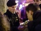 Policisté v centru Prahy kontrolovali v barech a restauracích mladistvé....