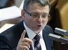 Ministr zahraničních věcí Lubomír Zaorálek vystoupil 18. února v Poslanecké...