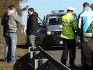 Řidiče audi zastavily na rychlostní silnici R10 až varovné výstřely.
