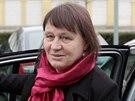 Do Brna dorazila nová ombudsmanka Anna Šabatová před polednem z Prahy, kde ráno skládala slib v kanceláři předsedy Poslanecké sněmovny.