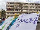 Občanské sdružení Konexe společně s romskými občany v okolí jejich ubytoven...