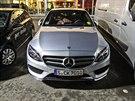 Nový Mercedes třídy C při testování u Stuttgartu