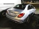 Nov� Mercedes t��dy C p�i testov�n� u Stuttgartu