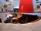 Část základů budovy byla poškozena, konstrukce muzea by ale neměla být v...