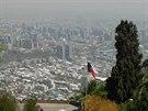 Pohled ze San Cristóbal na opačnou stranu města