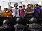 Nespokojenost s vládou premiérky Šinavatrové přivádí opakovaně do ulic tisíce...