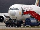 Letadlu zbývalo palivo na 20 minut letu, než dosedlo na ranvej mezinárodního...