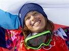 Eva Samková suverénně ovládla olympijský snowboardcross a dojela si pro zlatou...