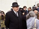 Bývalý šéf komunistické StB Alojz Lorenc 11. února v Bratislavě u obřadní síně...