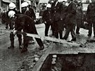 Historické fotky k neštěstí na Pekařské ulici v Brně v roce 1976. Voda tehdy...