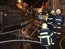 Oheň způsobil v berounské truhlárně škodu tři miliony korun.
