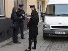 Na předváděcí akci asistovala policie.
