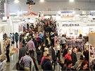 Pět set padesát vystavovatelů ze sedmnácti zemí světa přijelo o víkendu do Brna