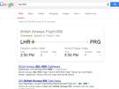 Pro zji�t�n� aktu�ln�ho stavu sv�ho letu sta�� do Google zadat jeho ��slo....
