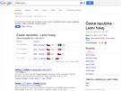 Google �asto nab�z� speci�ln� rychl� informace (v�st�i�ky) k aktu�ln�m...